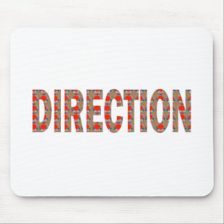 DIRECTION : Guide Coach Mentor Master Teacher GIFT Mouse Pad