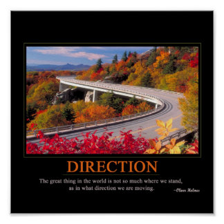 Direction Poster