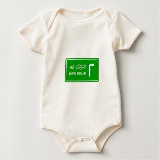 Direction to New Delhi Baby Bodysuit