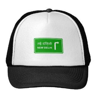 Direction to New Delhi Trucker Hat