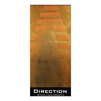 """Direction"" Value Bookmark Rack Card"