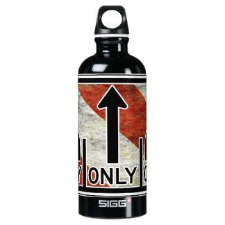Directional Contradictions Aluminum Water Bottle