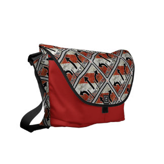 Directional Contradictions Courier Bags