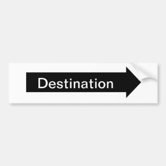 Directional Sign Sticker