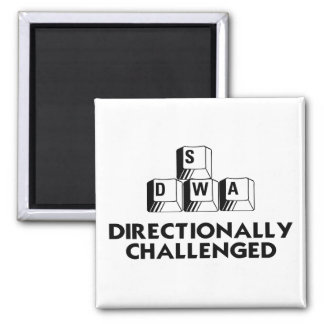 Directionally Challenged Magnet