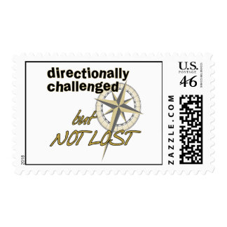 Directionally Challenged Postage