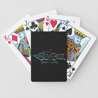 Directionless Bicycle Playing Cards