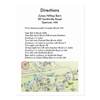 Directions Card
