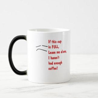 Directions For Use Magic Mug