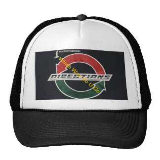 Directions Logo on White Cap Hats