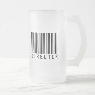Director Bar Code Mug