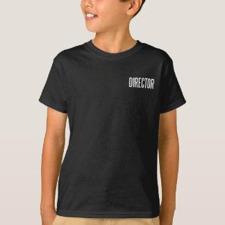Director basic black T.Shirt T-Shirt