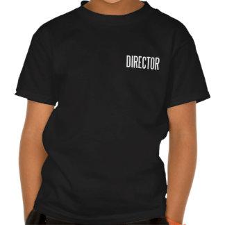 Director basic black T.Shirt Tee Shirt