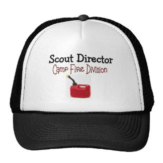 Director Camp Fire Division del explorador Gorra