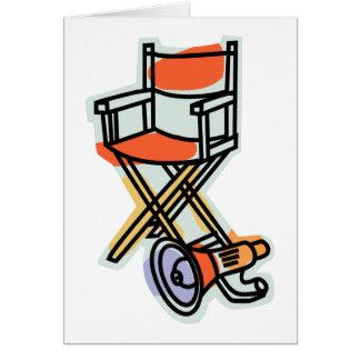 Director Card Tarjeta De Felicitación