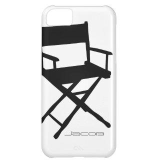 Director Chair iPhone5C con nombre de encargo Funda Para iPhone 5C