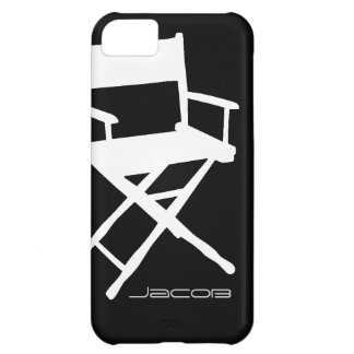 Director Chair iPhone5C with Custom Name iPhone 5C Covers
