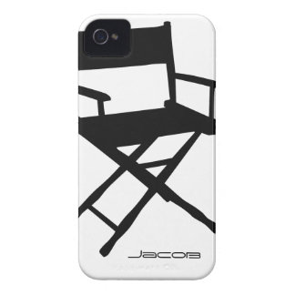 Director Chair iPhone 4 Funda
