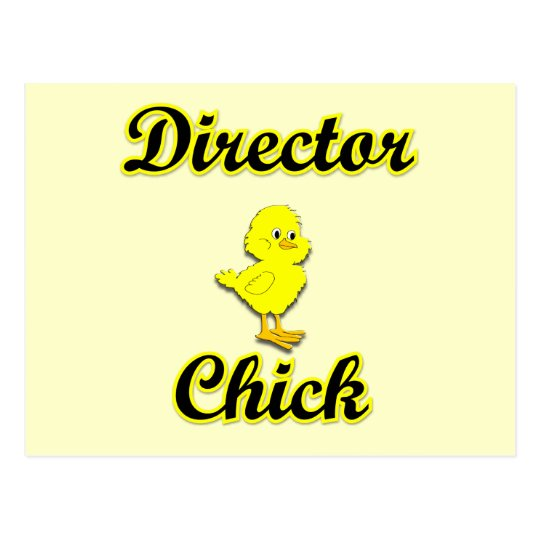 Director Chick Postcard