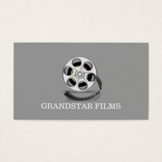 Director Clapperboard Film Movies Producer Business Card