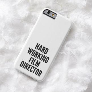 Director de cine de trabajo duro funda de iPhone 6 barely there
