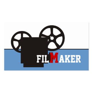 Director de cine director tarjetas de visita del f