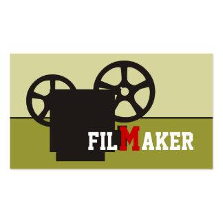 Director de cine/director/tarjetas de visita del f