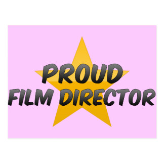 Director de cine orgulloso tarjetas postales