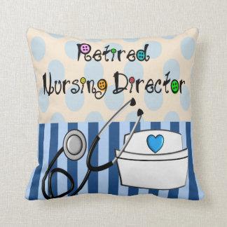 Director de cuidado jubilado Pillow Almohadas