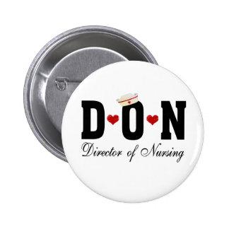Director de DON del oficio de enfermera Pins