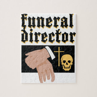 Director de funeraria rompecabezas con fotos