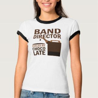 Director de la banda chocolate (divertido) camisas