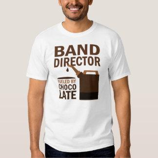 Director de la banda chocolate (divertido) playeras