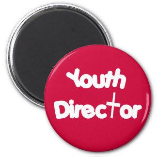 Director de la juventud imán redondo 5 cm