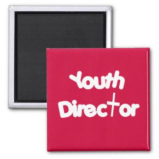 Director de la juventud imán cuadrado