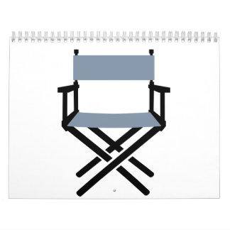 Director de la silla calendario