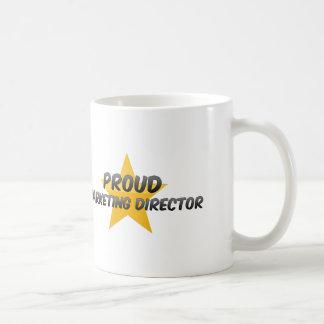 Director de marketing orgulloso taza clásica
