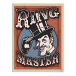 Director de pista de circo II Postal