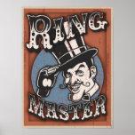 Director de pista de circo II Posters