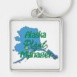 Director de planta de Alaska Llaveros Personalizados