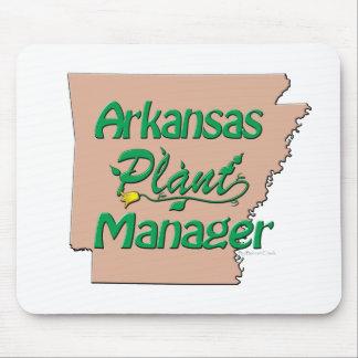 Director de planta de Arkansas Mouse Pads