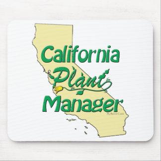 Director de planta de California Tapetes De Raton