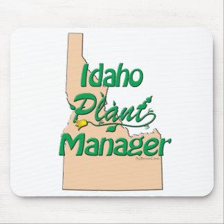 Director de planta de Idaho Alfombrillas De Ratón
