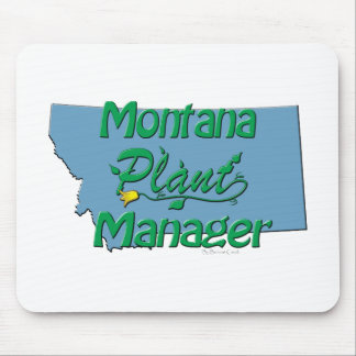 Director de planta de Montana Alfombrilla De Raton