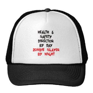 Director de salud y de seguridad del asesino del gorra