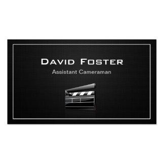 Director del cameraman auxiliar de la película tarjetas de visita
