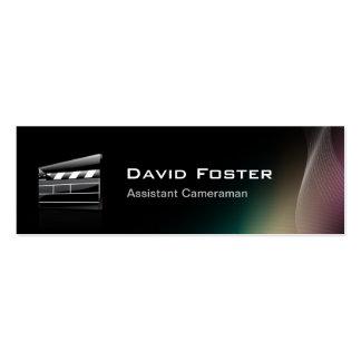 Director del cameraman auxiliar de la película tarjetas de visita mini