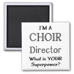 Director del coro imán de frigorifico