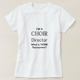 Director del coro remera