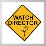 Director del reloj impresiones